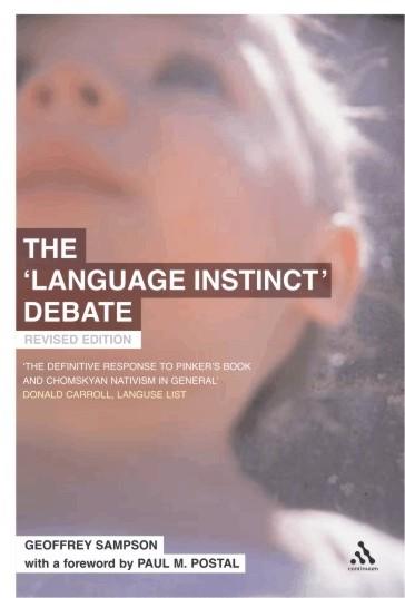 Geoffrey Sampson The Language Instinct Debate